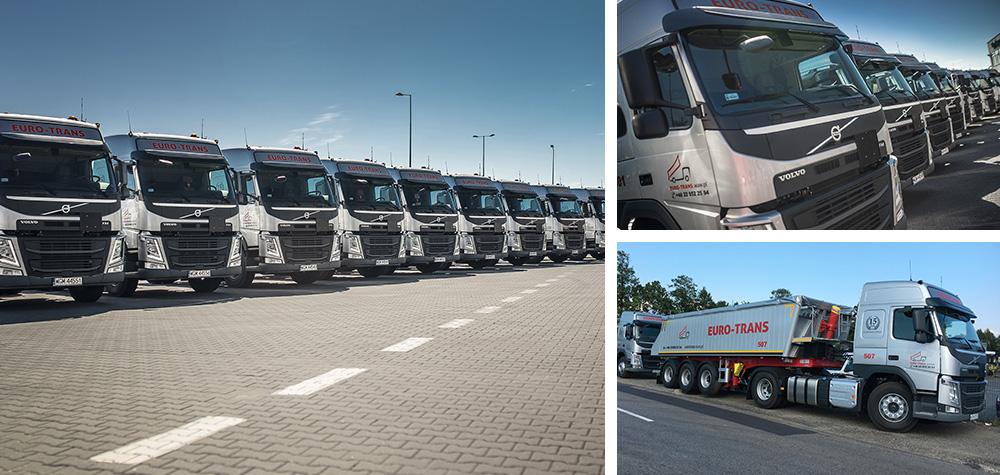 Pierwsze pojazdy Volvo Trucks w ponad piętnastoletniej historii firmy EURO-TRANS !