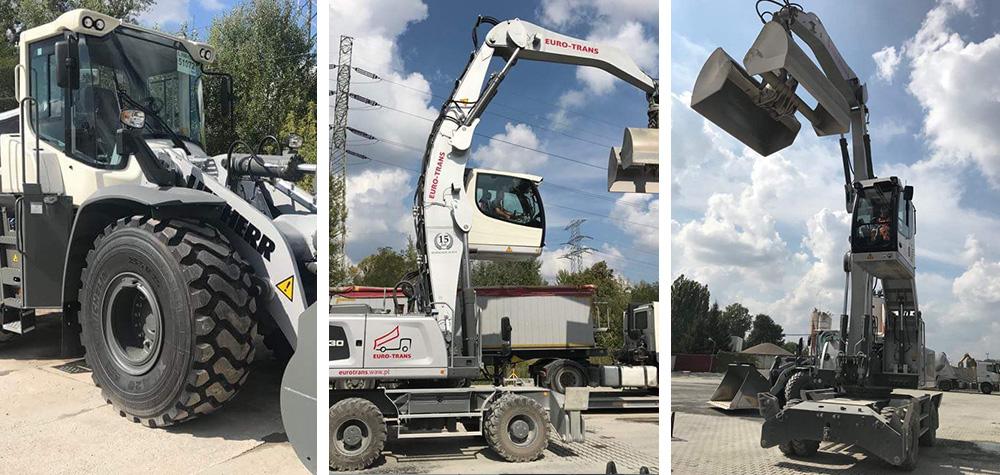 Nowy sprzęt budowlany Liebherr L556 XPOWER i Liebherr LH 30