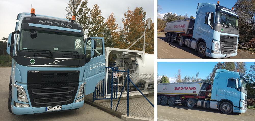 Gaz ziemny ma ogromny potencjał jako zamiennik oleju napędowego w samochodach ciężarowych.